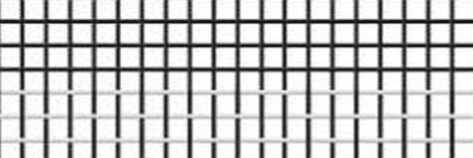 Tela de fibra de vidrio a rayas blanca/negra
